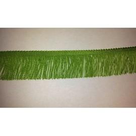 Frange vert anis 5 cm