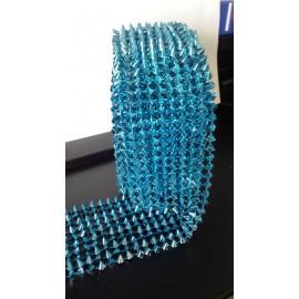 Galon clou pyramide turquoise