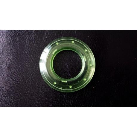 Oeillet clipsable transparent