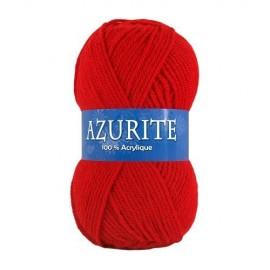 Laine AZURITE Rouge carmin