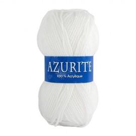 Laine AZURITE Blanc