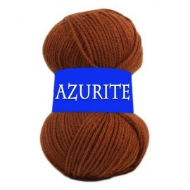 Laine AZURITE Marron