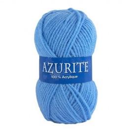 Laine AZURITE Bleu moyen