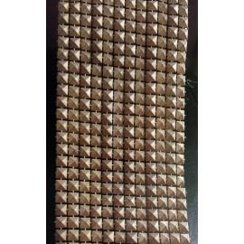 Galon forme pyramide bronze