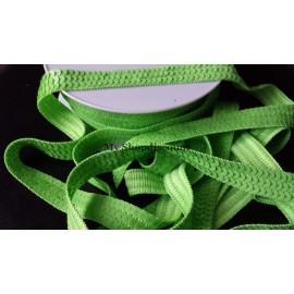Galon paillettes rondes vert
