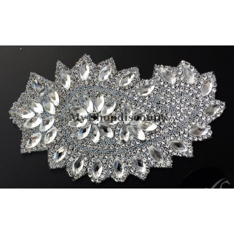 Applique strass