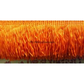 Frange orange 5 cm