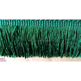 Frange vert foncé 5 cm