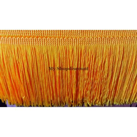 Frange jaune 10 cm