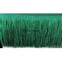 Frange vert foncé 10 cm