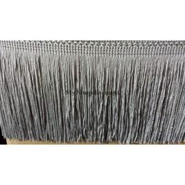 Frange gris 10 cm