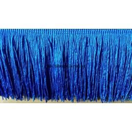 Frange bleu roy 10 cm