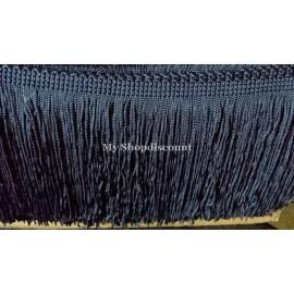 Frange bleu marine 10 cm