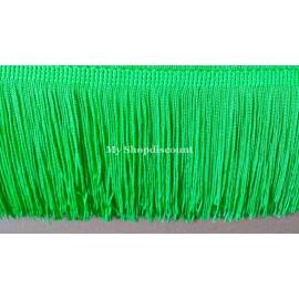 Frange vert anis 10 cm