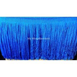 Frange bleu roy 15 cm