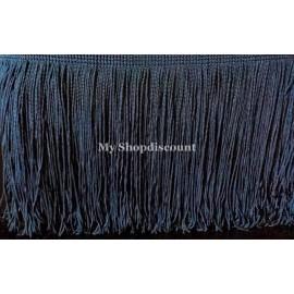 Frange bleu marine 15 cm