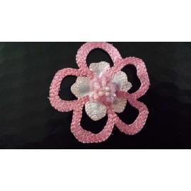 Motif thermocollant fleur Arielle