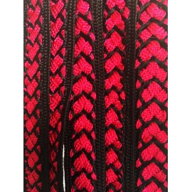 Galon Sfifa par 50 cm rouge