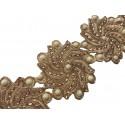 Galon orientale Raina bronze X 50 cm