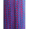 Galon Sfifa par 50 cm bleu et rouge