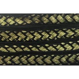 Galon Sfifa par 50 cm vert et noir