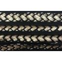 Galon Sfifa par 50 cm blanc et noir