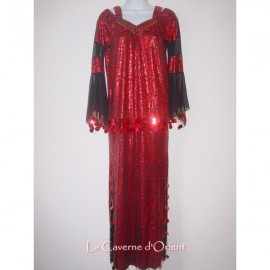 Robe Baladi rouge
