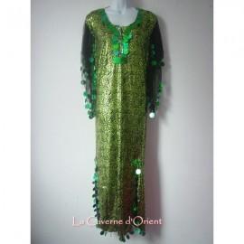 Robe Baladi vert