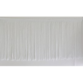 Frange blanche 20 cm