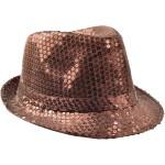 Chapeaux paillette marron