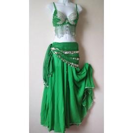 Ensemble danse orientale vert