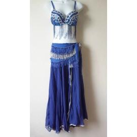 Ensemble danse orientale bleu