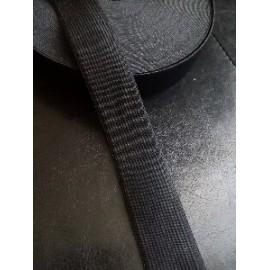 Elastique noir large 2,5 cm