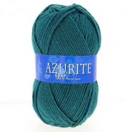 Laine AZURITE vert canard