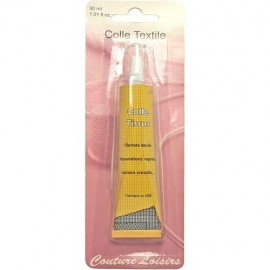 Colle textile en tube - 30 ml