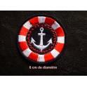 Motif broderie marin
