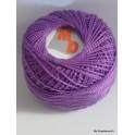 Coton perlé 8 lilas foncé