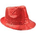 Chapeaux paillette rouge