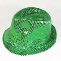 Chapeaux paillette vert