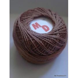 Coton perlé 8 marron foncé