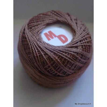 Coton perlé 8 marron