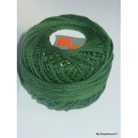 Coton perlé 8 vert foncé