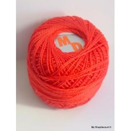 Coton perlé 8 rouge