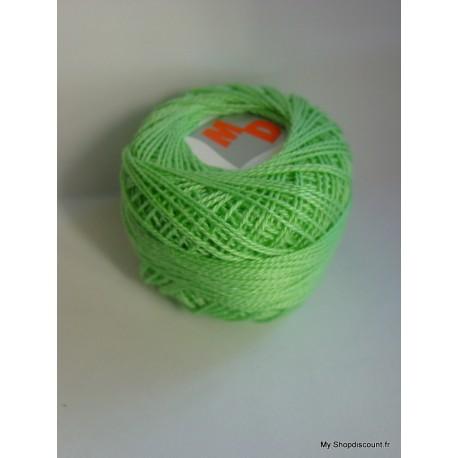 Coton perlé 8 vert pale