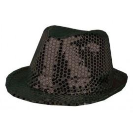 Chapeaux paillette noir