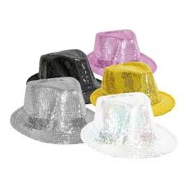 Lot 5 Chapeaux paillette