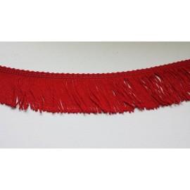 Frange rouge 5 cm