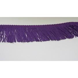 Frange violet 5 cm