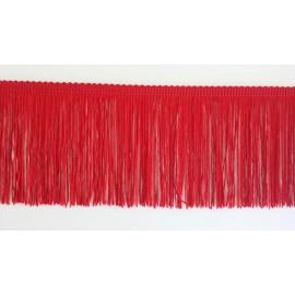 Frange rouge 10 cm