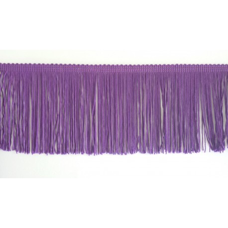 Frange violet 10 cm